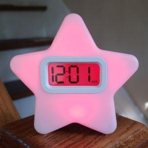 Capello Other - Light up star alarm clock